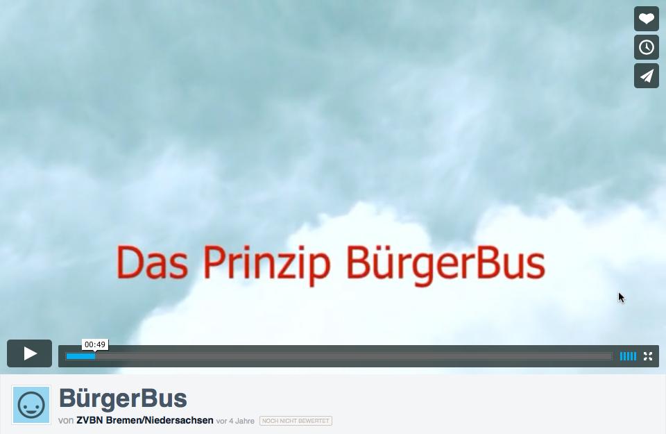 BürgerBus im Video erklärt