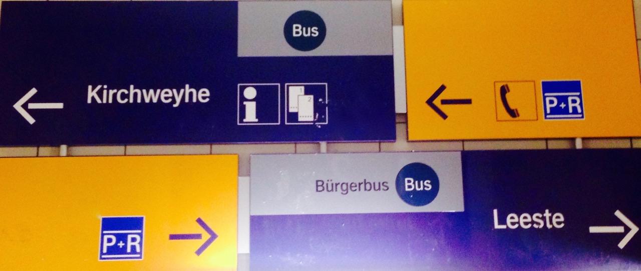 Vom Zug in den Bürgerbus