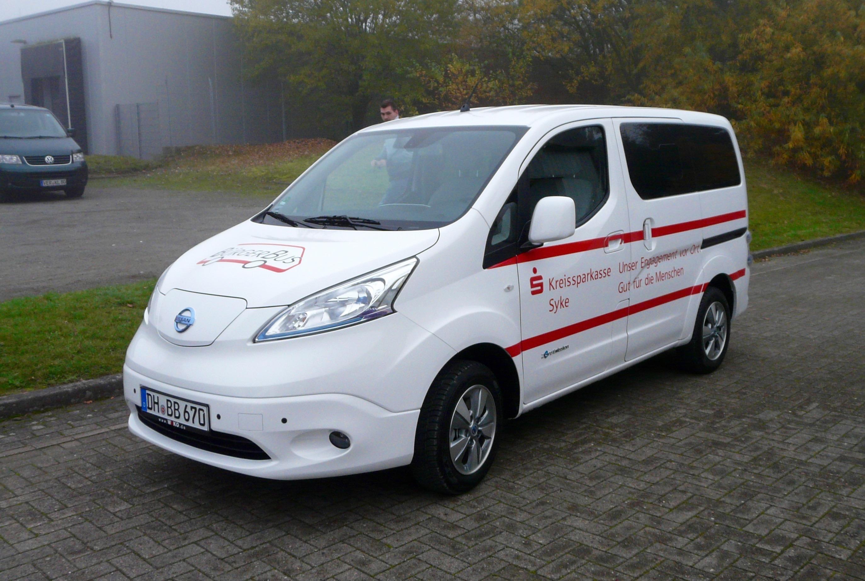 E-Mobilität durch den BürgerBus